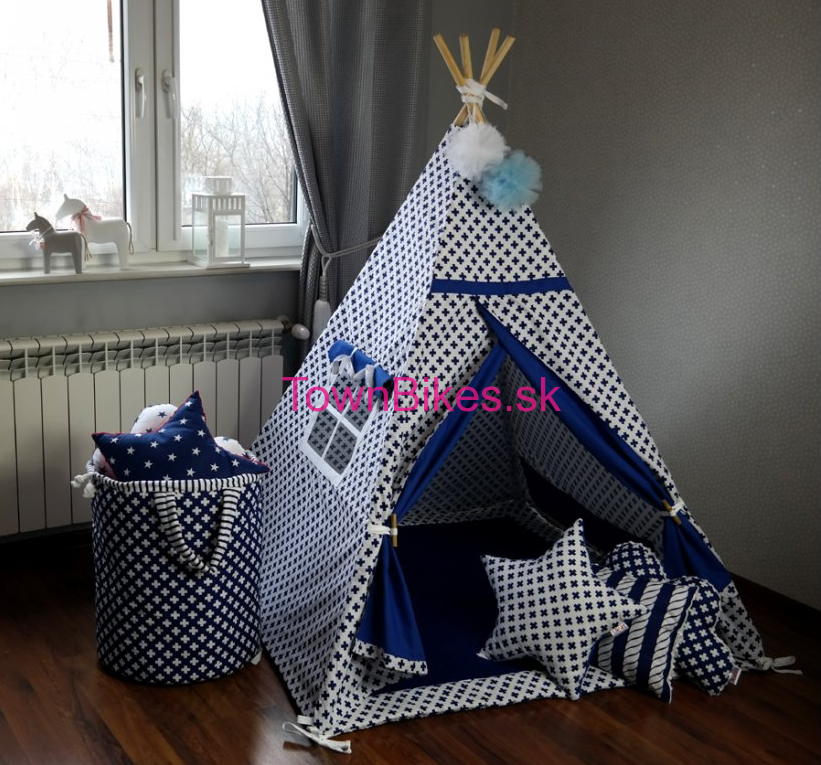 Teepee stan PLUS BLUE