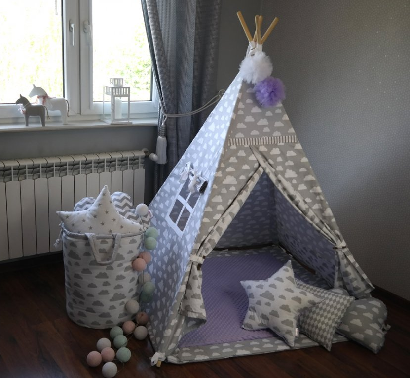 Teepee stan LAVENDER CLOUD