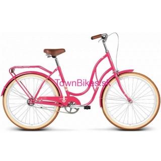 fc9da43e802e8 Štýlový retro bicykel pre dámy 26