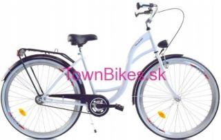 82093c4c37ec9 Dámsky mestský retro bicykel 28